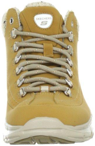 Skechers BravosSnow Melt 99999661 CHOC - Zapatillas fashion de cuero nobuck para mujer Marrón