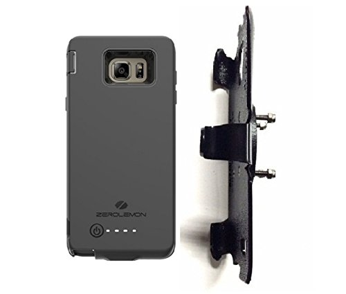 SlipGrip RAM-HOL Holder For Samsung Galaxy Note 5 Using Zerolemon 8500mAh EXT BAT Case ()