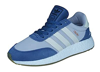 adidas Originals Iniki Runner I-5923 Womens Trainers/Shoes - Floral Green-Purple-5