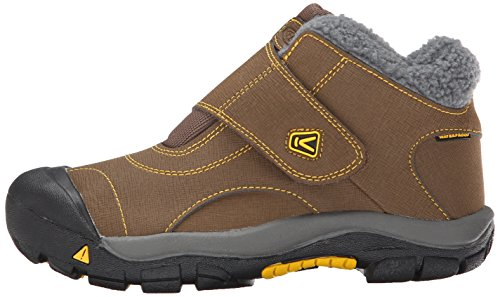 KEEN Kootenay Waterproof Winter Boot (Little Kid/Big Kid), Dark Earth/Spectra Yellow, 4 M US Big Kid by KEEN (Image #5)