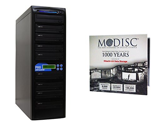 Produplicator 1 to 8 24X M-Disc Support CD DVD Duplicator Bundle with 1 Pack M-DISC, Nero Essentials Burning Software (Standalone Duplication Tower) by Produplicator (Image #6)