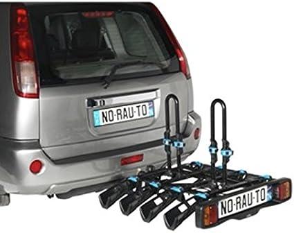 Portabicicletas adorno norauto antirrobo y inclinable 4 bicicletas ...