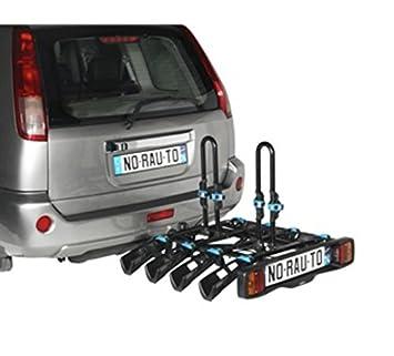 Portabicicletas adorno norauto antirrobo y inclinable 4 bicicletas