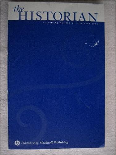Téléchargement ebooks Android gratuit The Historian Vol 65 Number 2 by Kathleen Paul en français PDF FB2
