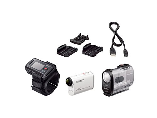 Sony FDR-X1000VR/W 4K Action Cam and LiveView Remote Kit