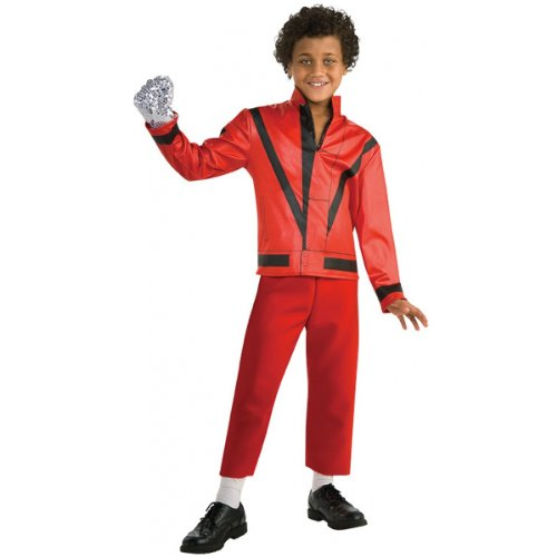Thriller Red Jacket Costume - (Michael Jackson Thriller Costume Pattern)
