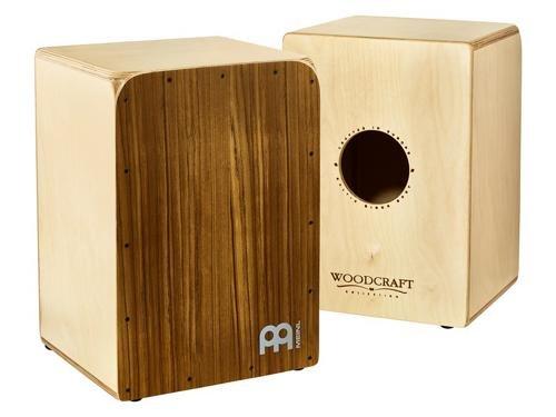 Meinl Percussion WCAJ500NT-OV Front Plate: Ovangkol, Body: 13-Ply Birch Woodcraft Snare Cajon