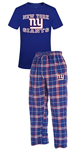 Concepts Sport New York Giants NFL Great Duo Men's T-Shirt &