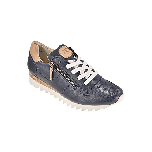 4485 PAUL GREEN TRAINER WITH ZIP Navy