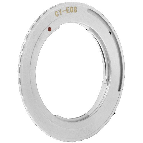 Mount Adapter Ring For CY Contax Yashica Yashinon Zeiss lens to Canon EOS DC135
