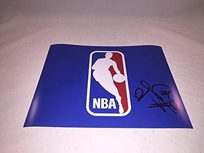 DE'AARON FOX SACRAMENTO KINGS SIGNED NBA LOGO 8x10 PHOTO KENTUCKY WILDCATS 2 - Autographed NBA Photos
