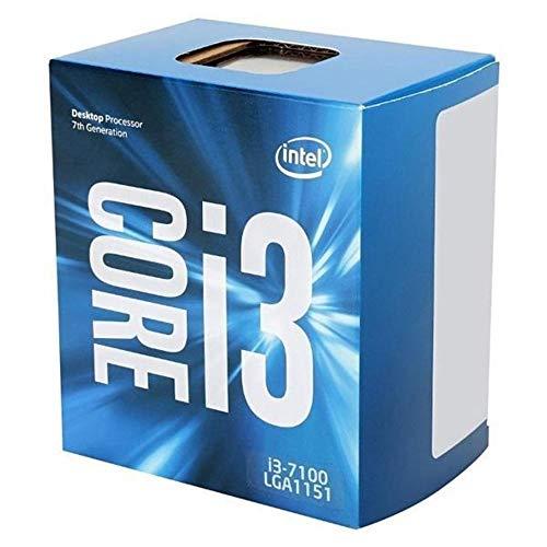 Intel Bx80677I37100 Core I3-7100 Processor, 3Mb, 3.90 Ghz, 14Nm, Blauw