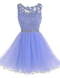 2018 Womens Short Prom Dresses Ball Gown Sleeveless Homecoming Party Vestidos de Graduation Cortos