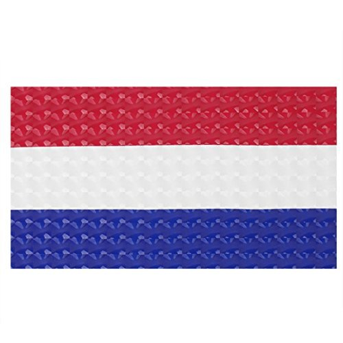 Price comparison product image DealMux Netherlands Flag Print Vinyl 15.6 Laptop Notebook Skin Cover Decal Sticker