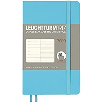 Amazon.com : Leuchtturm1917 357803 Weekly Planner & Notebook ...