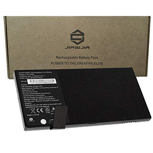 JIAZIJIA BP3S1P2160-S Laptop Tablet Battery Replacement for Getac F110 Fully Rugged Tablet Series Notebook 441857100001 242857100001 BP3S1P2160 Black 11.4V 24Wh 2160mAh