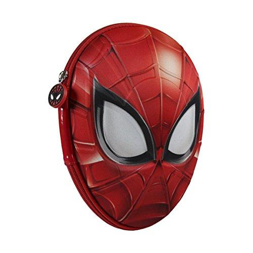 Marvel Spiderman 2700–208Filled Pencil Case 3d、2コンパートメント、マーカー、クレヨン、アクセサリー学校21ピース、ポリエステル、マルチカラーの商品画像