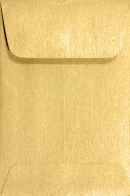 #1 Coin Envelopes (2 1/4 x 3 1/2) Gold Metallic (500 Qty.)
