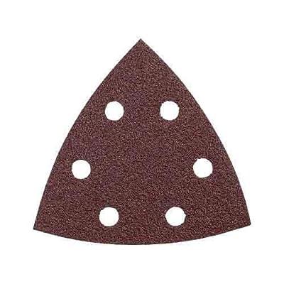 Bosch SDTR081 3-3/4 In. 80 Grit 50 Pk. Detail Sander Abrasive Triangles for Wood