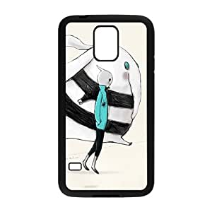 cute rabbits personalized high quality cell phone case for Samsung Galaxy S5