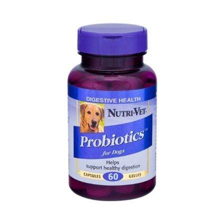 Nutri-Vet Probiotics Capsules, 120 Count