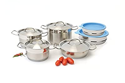 12-Pc Cookware With Mixing Bowls