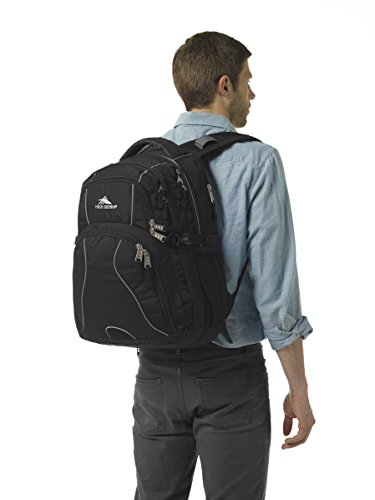 High Sierra Swerve Backpack, Black by High Sierra (Image #5)