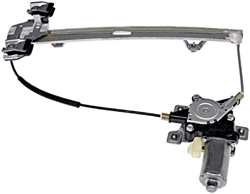 Fits 03-09 Hummer H2, 05-09 H2 SUT Rear Right Passenger Window Regulator with Motor ()