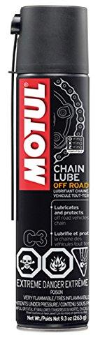 Motul (103245-12) C3 Off-Road Chain Lube, 9.3 oz., (Case of 12)
