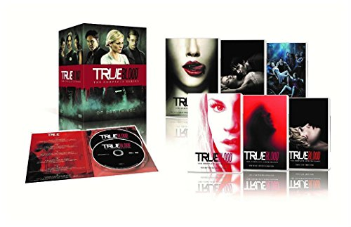 True Blood The Complete Series Seasons 1,2,3,4,5,6,7 DVDS Disc Box Set NEW Sealed ()