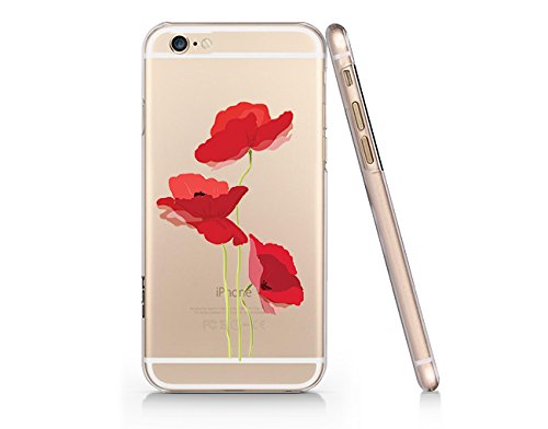 vintage secret poppy flower slim iphone 6