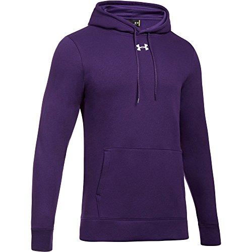 Fleece Hoodie Purple (Under Armour Men's UA Hustle Fleece Hoodie (Medium, Purple))