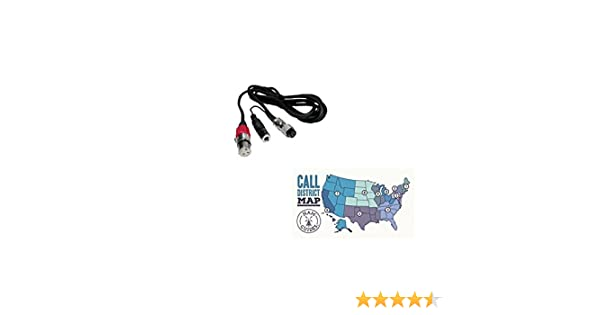 CC-1-Y CC1Y Original Heil Sound XLR4 to Yaesu 8-Pin Round with Mono 1//4 inch Female Jack for PTT Microphone Adapter Cable