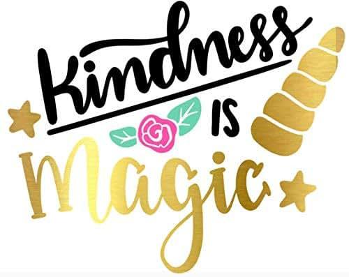 Amazon Com Kindness Is Magic Unicorn Permanent Vinyl
