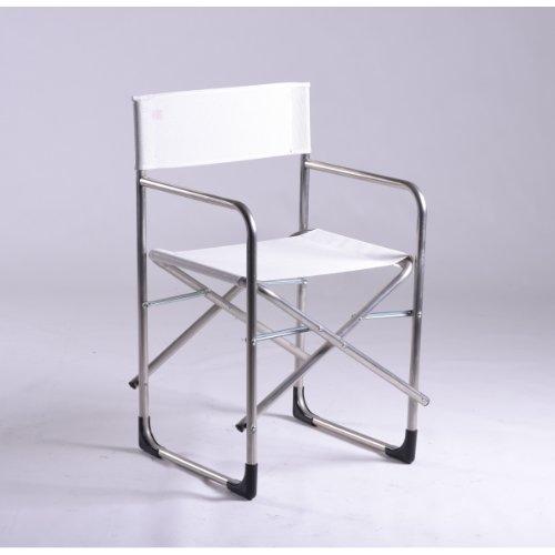 Sedia da giardino Regista FIAM - Alluminio, Texfil, TX BI - Bianco FIAM La dolce vita