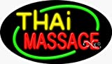 17x30x3 inches Thai Massage Flashing ON/OFF NEON Advertising Window Sign