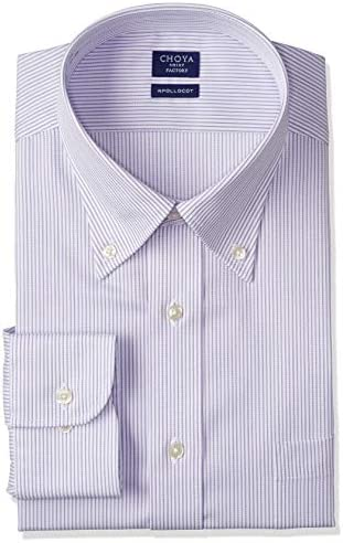SHIRT FACTORY 長袖メンズワイシャツ 日清紡アポロコット CFD338