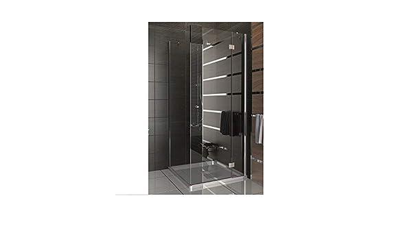 Esquina de ducha Mampara de ducha 90 x 80 x 185 ESG cabinas de ...