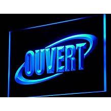 ADV PRO j174-b OUVERT OPEN Shop Bar Neon Enseigne Lumineuse