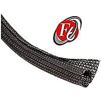 3/4 Split F6 Braided Cable Sleeving Wrap, Split Loom, Techflex (50FT)