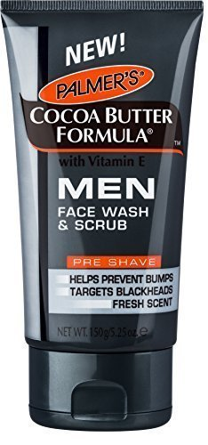 Palmers Cocoa Butter Formula Face Wash & Scrub for Men by HealthMarket by HealthMarket