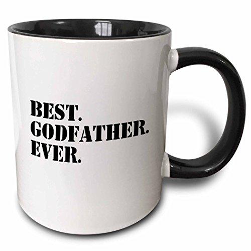3dRose mug_151497_4 Best Godfather Ever