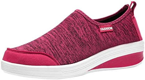 Sneakers Women/'s Leisure Mesh Breathable Flat Bottom Sport Shoes