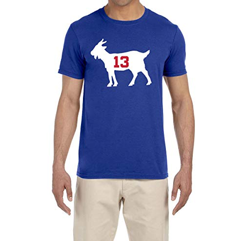 - Tobin Clothing Blue New York Beckham Goat T-Shirt Youth Small