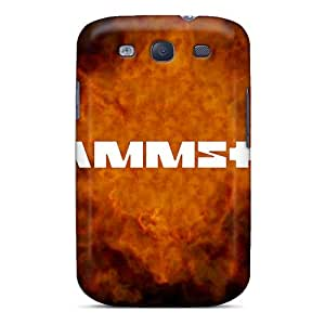 MansourMurray Samsung Galaxy S3 Shock Absorption Hard Cell-phone Case Unique Design Nice Rammstein Image [jHz8295IuqY]