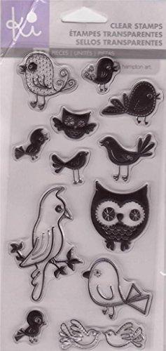 KI HAMPTON ART Clear Stamps FOR