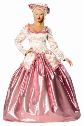 Marie Antoinette Halloween (Women's Pink Marie Antoinette Costume - Medium/Large)