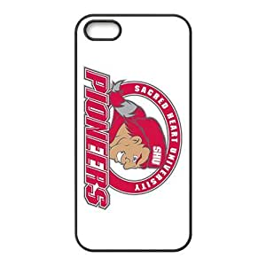 NCAA Sacred Heart Pioneers Primary 2013 Black For SamSung Galaxy S6 Phone Case Cover