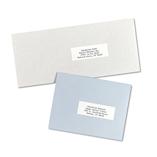 Avery Address Labels for Copiers 1 x 2-13/16, Box of 8,250 (5332)