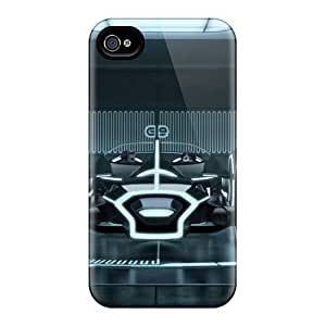 Shock-Absorbing Cell-phone Hard Cover For Iphone 4/4s (RDj5361ESak) Support Personal Customs Nice Daft Punk Band Skin